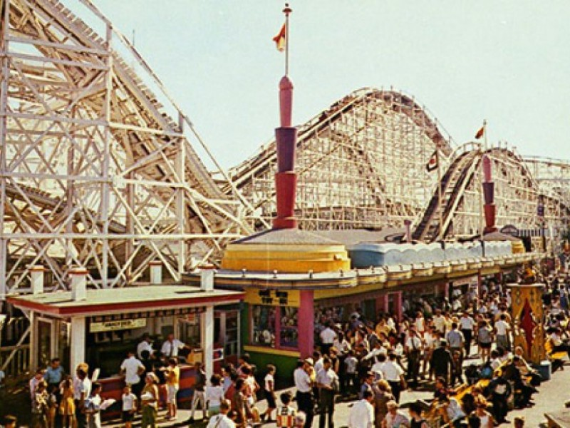 In Search Of The Cyclone Of Palisades Amusement Park