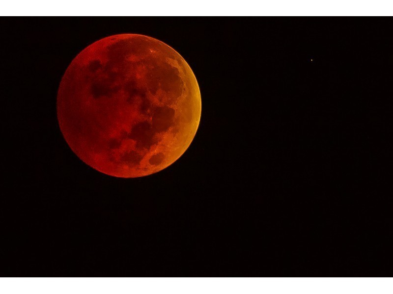 Rare Supermoon, Lunar Eclipse Will Paint The Moon Red On Sunday Night