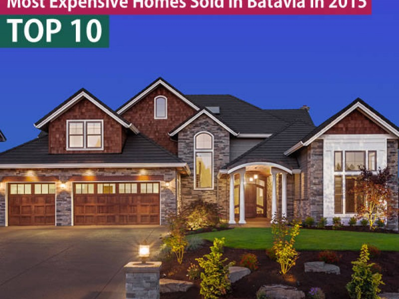 Top 10 luxury homes in batavia il patch for Most expensive house in illinois