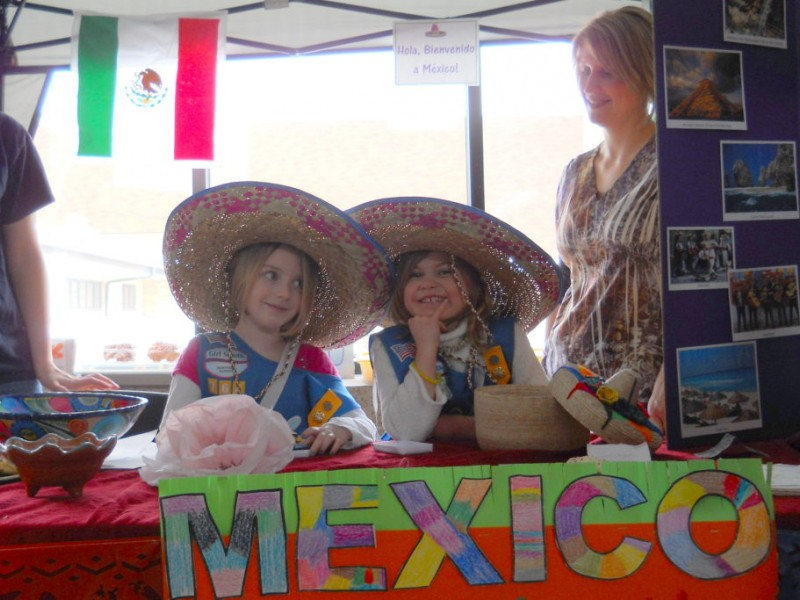 local girl scouts celebrate world thinking day   crystal