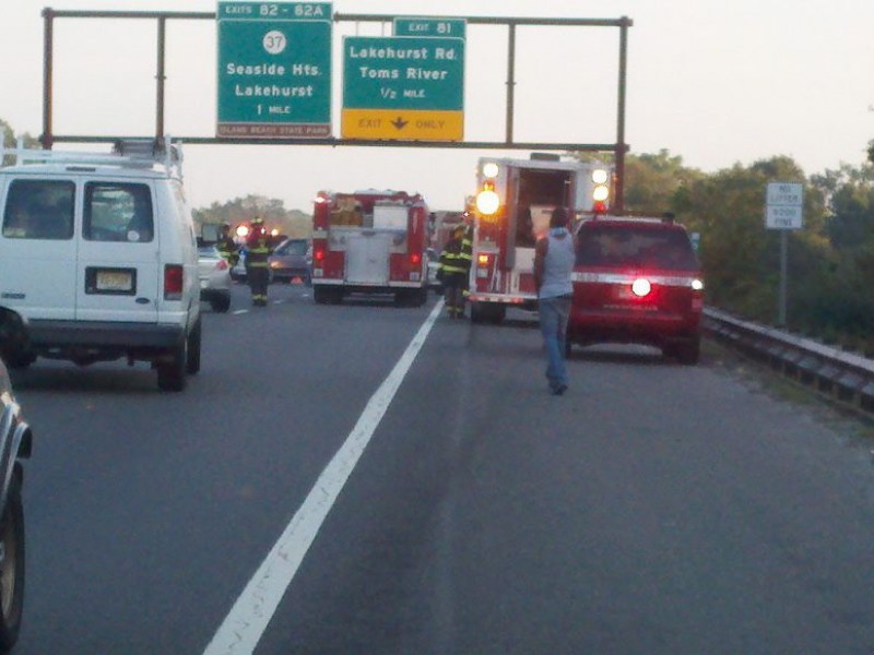 Updated Multi Vehicle Accident Brings Garden State Parkway