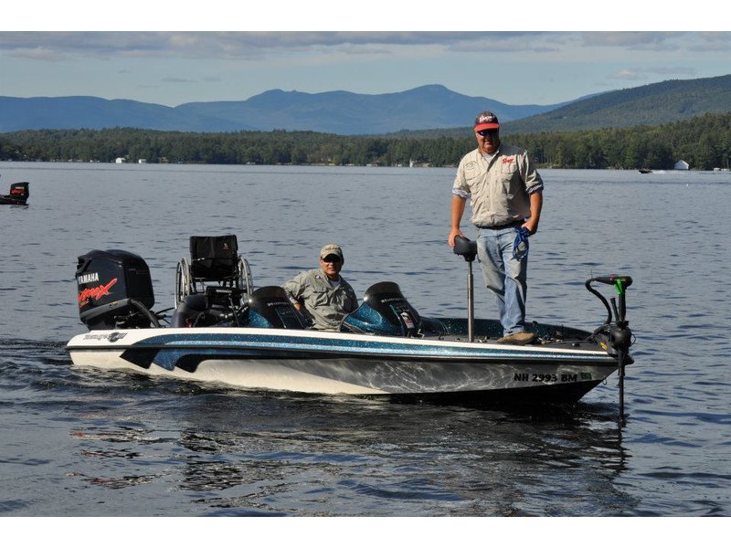 15th annual new england paralyzed veteran and disabled for Bass fishing nh