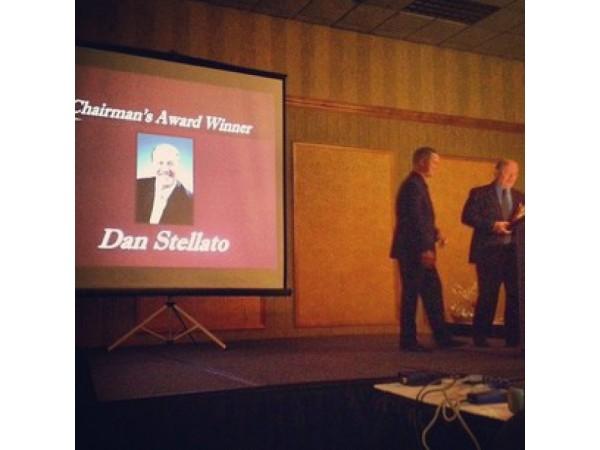 BEIs Dan Stellato Receives The Chairmans Award
