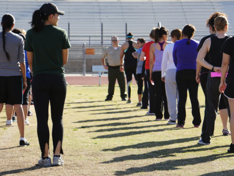 Sheriff S Department Touts Women Warriors Fitness