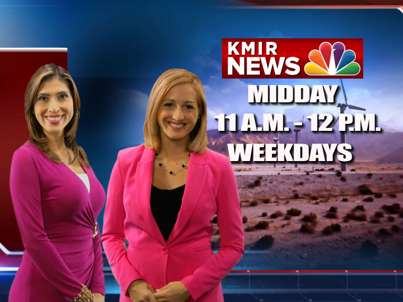 Kmir Touts Midday Newscast With Gloria Rodriguez And