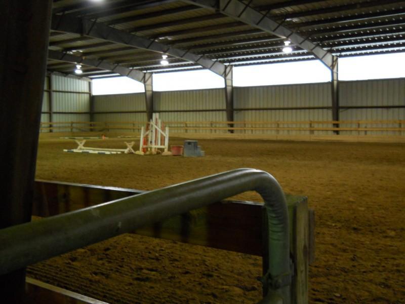 Local Equestrian Center Stays In The Arena Dale City Va