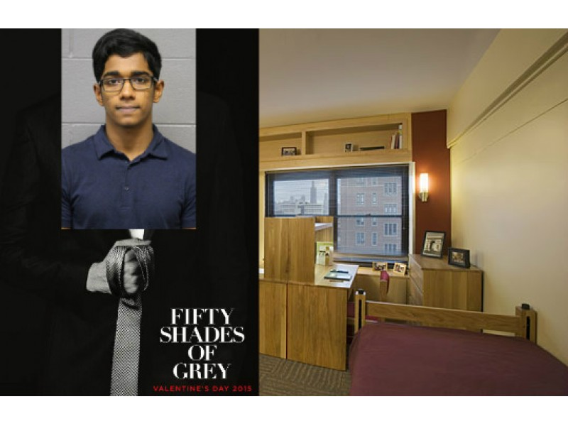 Accused '50 Shades of Grey' Rapist Acts Out Movie Fantasy in His UIC Dorm
