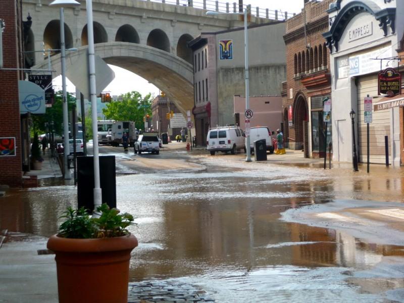 Photos Main Street Manayunk Floods Patch