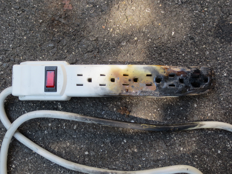 Never Run An A C Off A Power Strip Or Extension Cord
