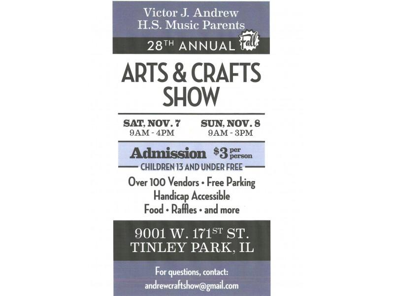 Andrew High School Craft Show