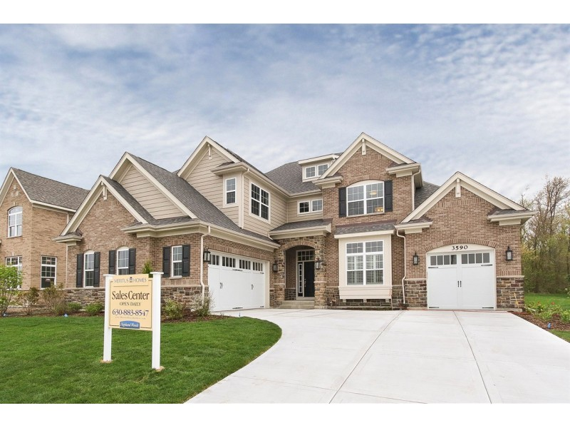 Meritus homes opens new decorated model home at greenbrook at highland