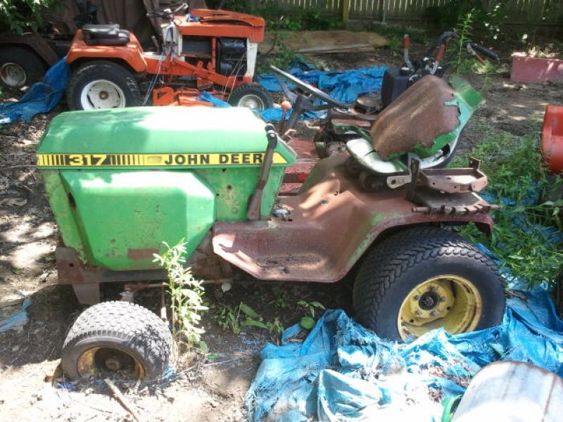 Vintage Lawn And Garden Tractors : For sale vintage john deere and simplicity garden