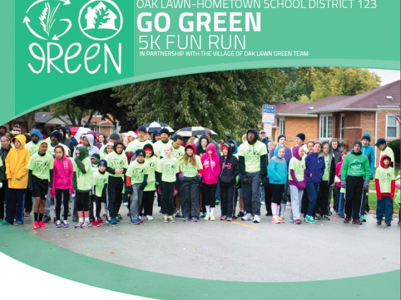 D123 and the Village of Oak Lawn Go Green 5K Fun Run | Oak Lawn ...