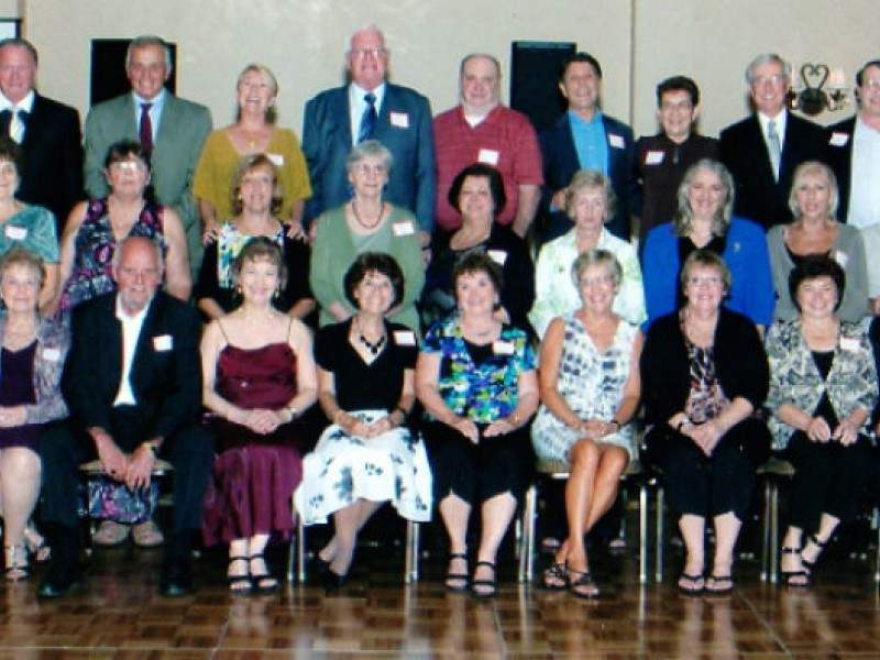 High school class of 1962 recently attended their 50th class reunion