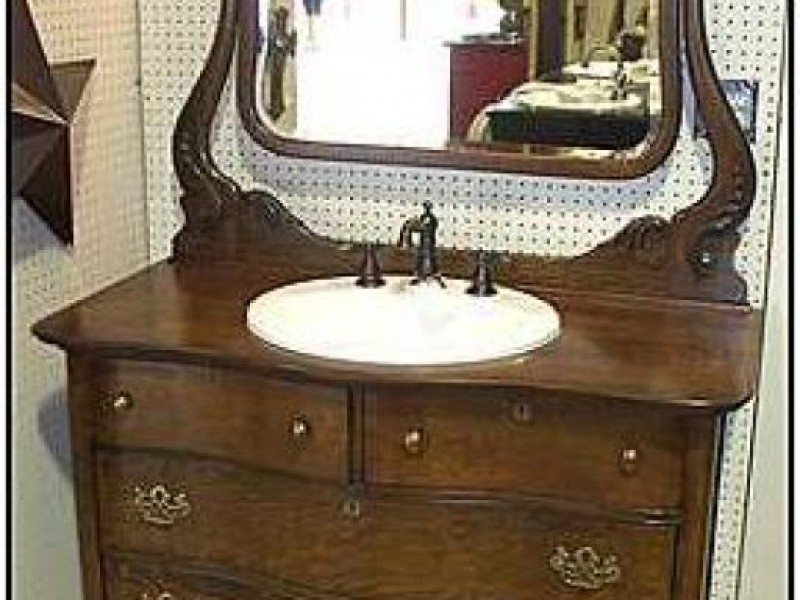 Challenges Of Using An Antique Bathroom Vanity Troy Mi Patch