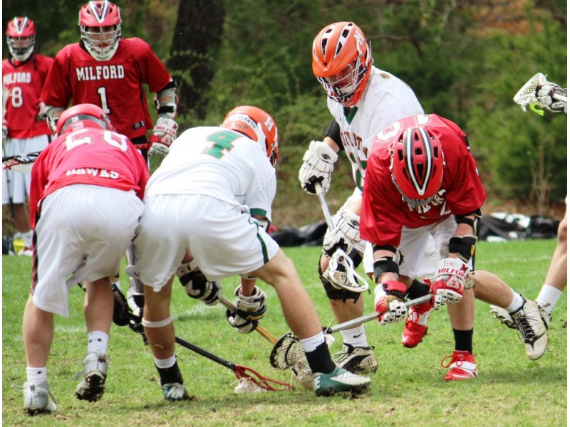 Milford high school lacrosse