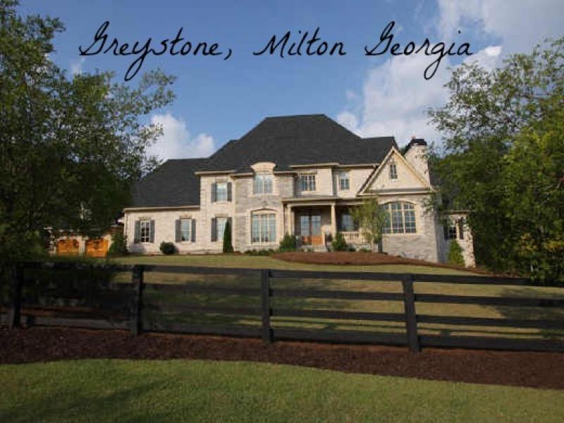 Greystone Estates Milton Georgia Luxury Homes Patch