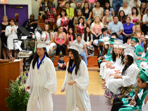 Isaac E Young Middle School 2013 Graduation New