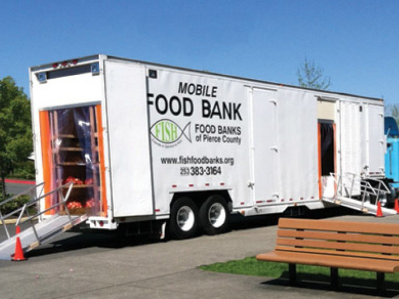 Bellevue Food Bank Volunteer