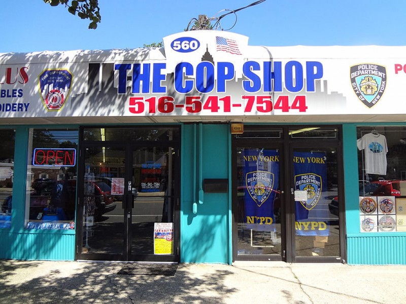 Cops Shop At The Cop Shop Massapequa Ny Patch