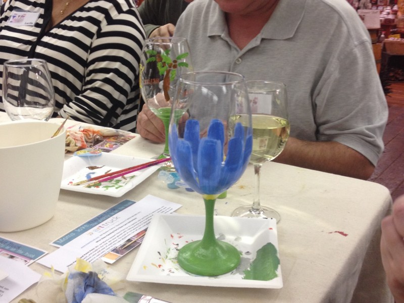paint sip create a wine glass painting party arrigoni