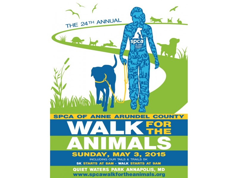 24th annual walk for the animals event may 3 annapolis md patch