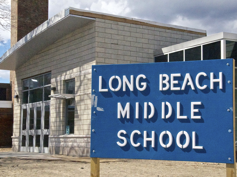 Long Beach Middle School: Middle School To Receive Post-Sandy Music Grant
