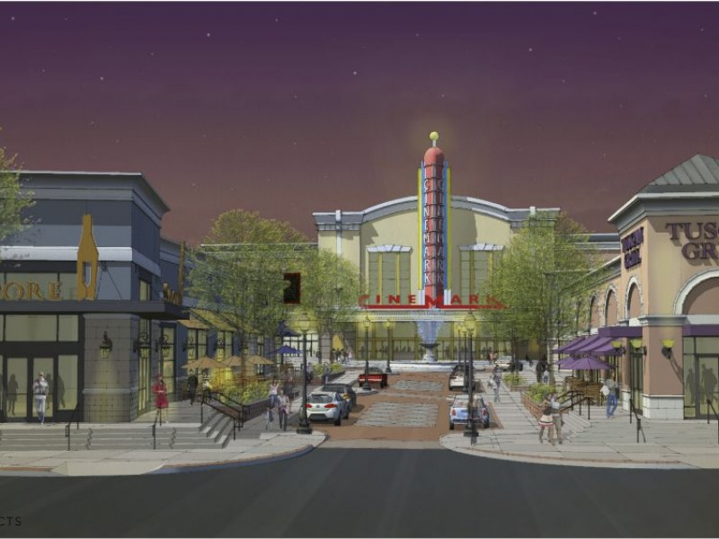 16screen cinemark theater to anchor towson circle iii