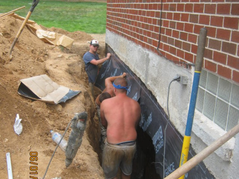 removing water from your basement and thousands of dollars in damages