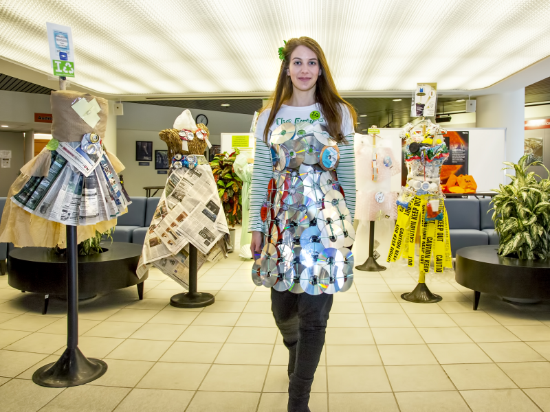 Mixing Fashion And Recycled Goods At Princeton Plasma
