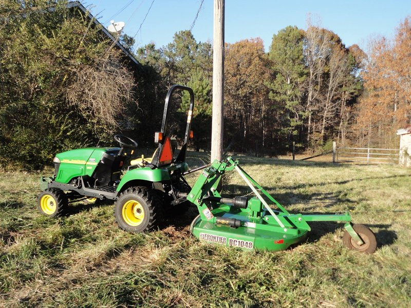 John Deere 2305 Compact Utility Tractor For Sale Dallas