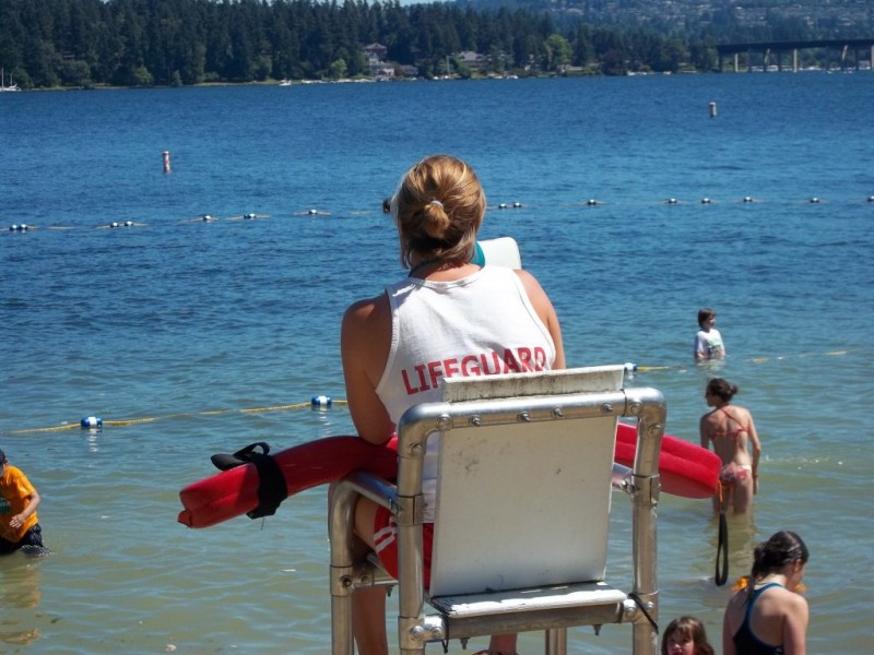 Luther Burbank Beach Lifeguards Now On Duty Patch