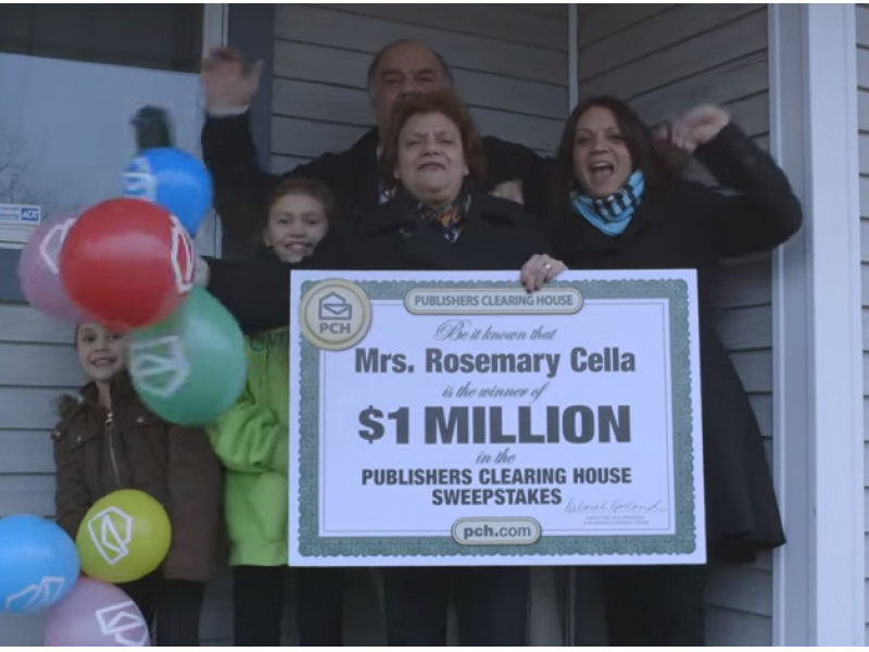 Publishers Clearing House Win