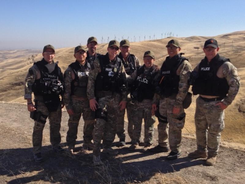 Swat Team Shields Newark Swat Team Makes Top 10