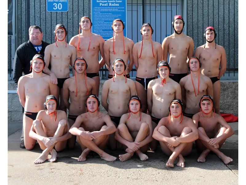 High School Boys Water Polo Woodside High School Boys 39