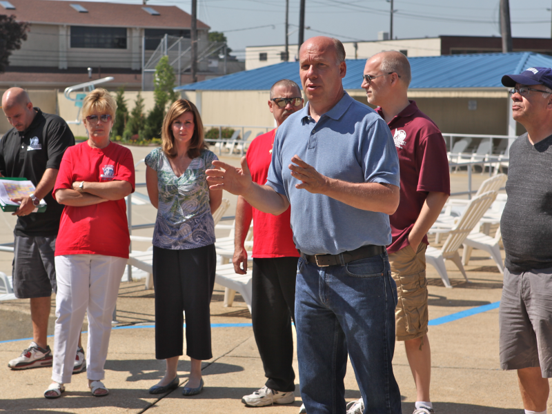 Mineola Pool Opens For 2013 Season Patch