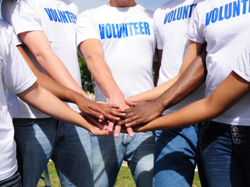 Essay about volunteer in community service