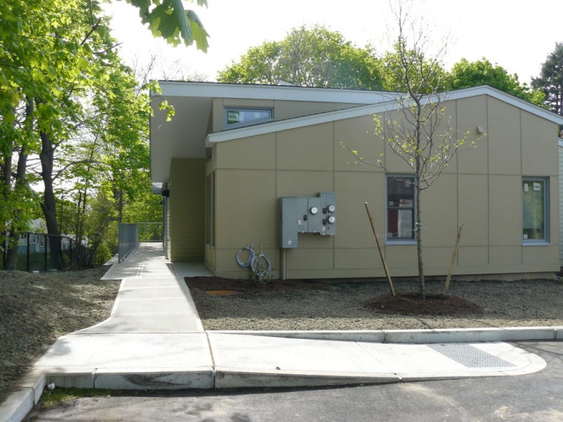 Stoneham builds wheelchair accessible affordable housing for Wheelchair accessible homes