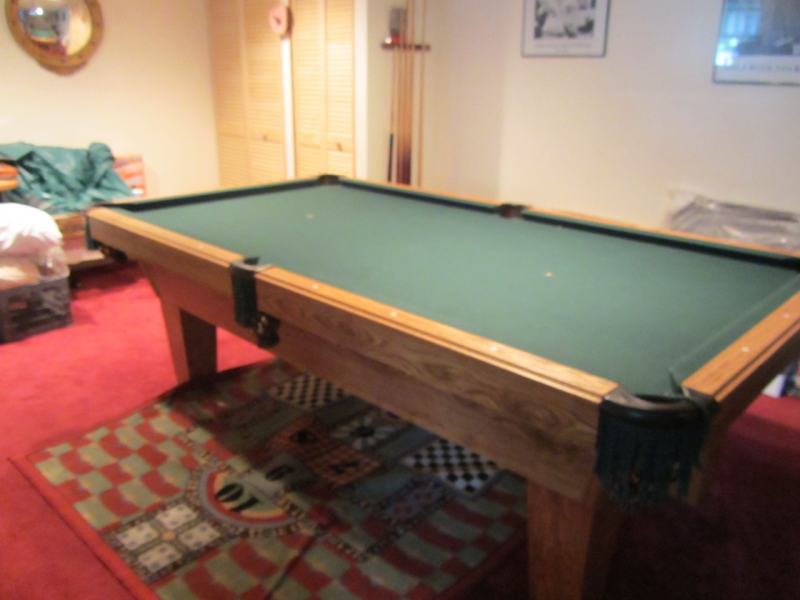 8ft pool table felt 2