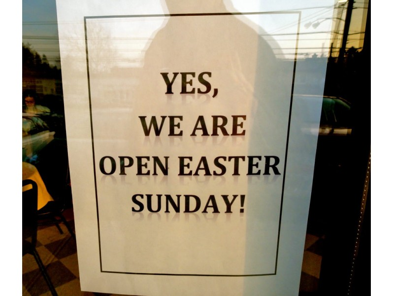 what's open easter sunday - photo #21