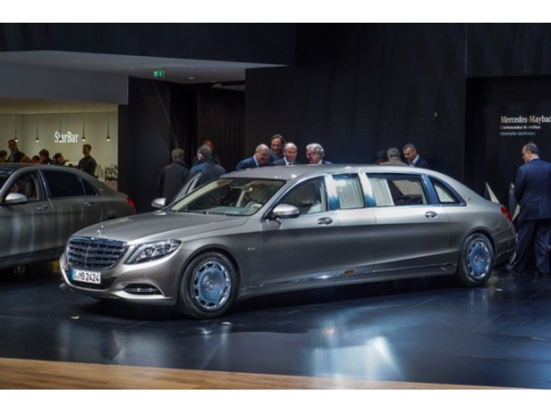 New 1m Armored Mercedes Maybach S600 Arrives Patch