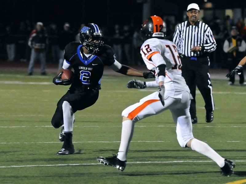 7a Football Lincoln Way East Pounds Edwardsville Reaches
