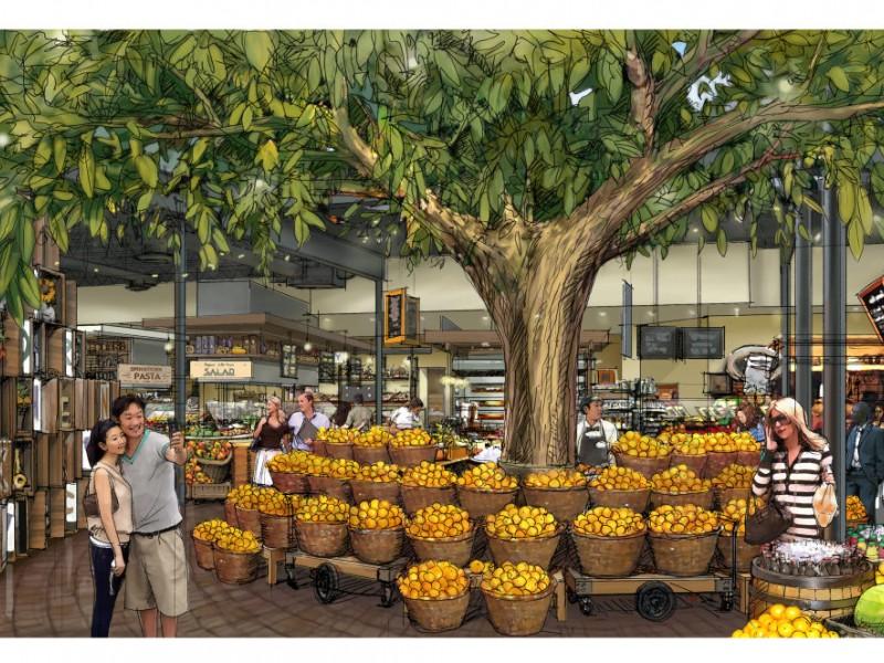 Old Orchard Food Court Skokie