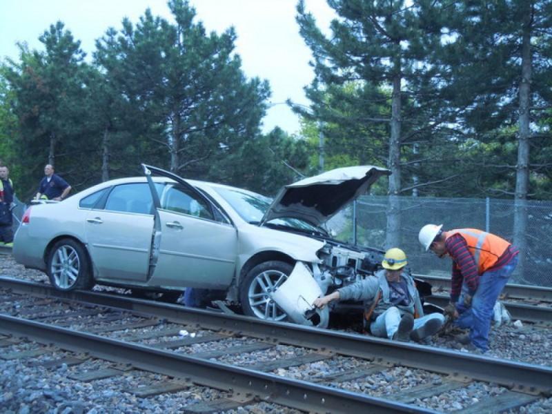 bizarre crash delays metra trains