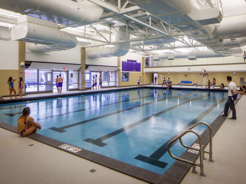 Niles North Opens Striking Aquatics Center Says It S For