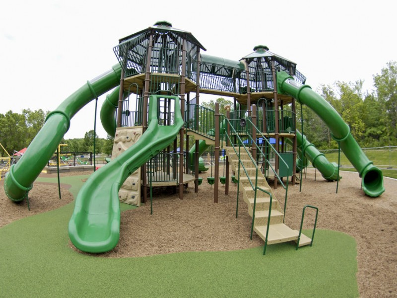 Elm Creek Park Reserve Play Area Opens For 2013 Season Patch