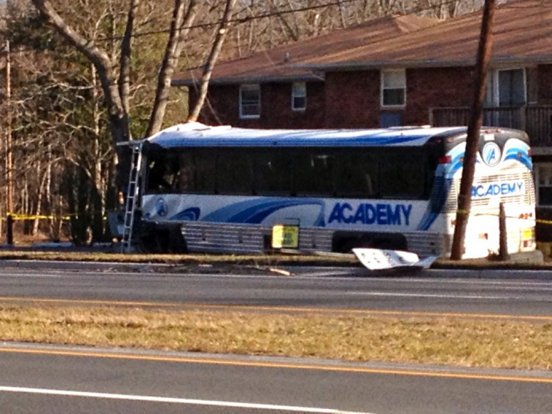 old bridge police cause of route 9 bus accident remains. Black Bedroom Furniture Sets. Home Design Ideas