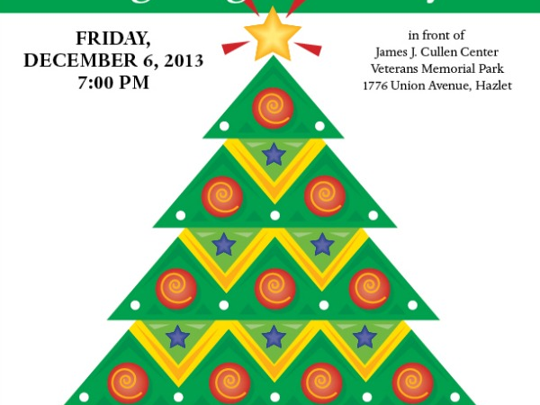 Christmas Tree Lighting In Red Bank Nj : Light the christmas tree with hazlet township holmdel