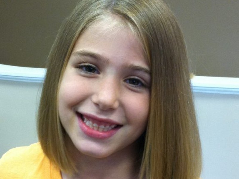 Local Girl Gets Haircut for Love - North Andover, MA Patch