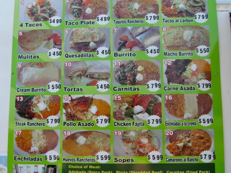 Mexican Food Island Lake